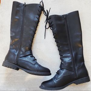 Universal Thread • black Magda riding boots